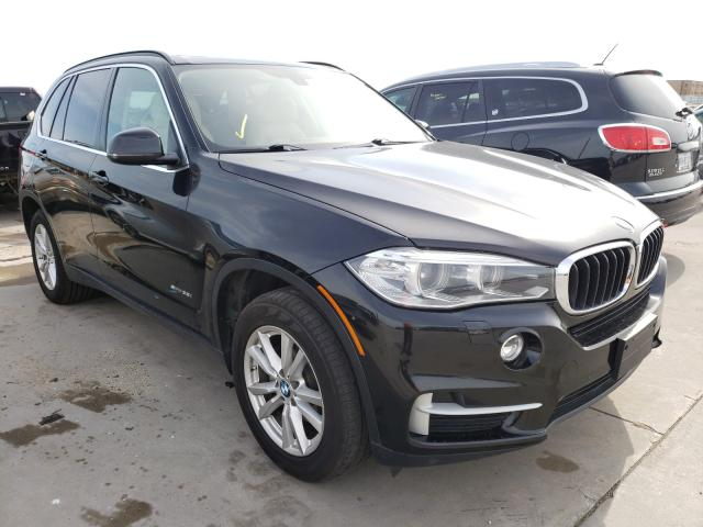 Salvage cars for sale from Copart Grand Prairie, TX: 2014 BMW X5 SDRIVE3