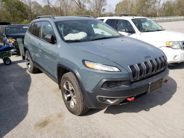 Salvage cars for sale from Copart Ellwood City, PA: 2014 Jeep Cherokee T