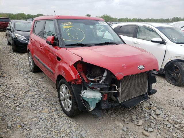 Salvage cars for sale from Copart Wichita, KS: 2013 KIA Soul