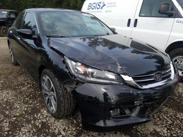 Salvage cars for sale from Copart Graham, WA: 2015 Honda Accord Sport