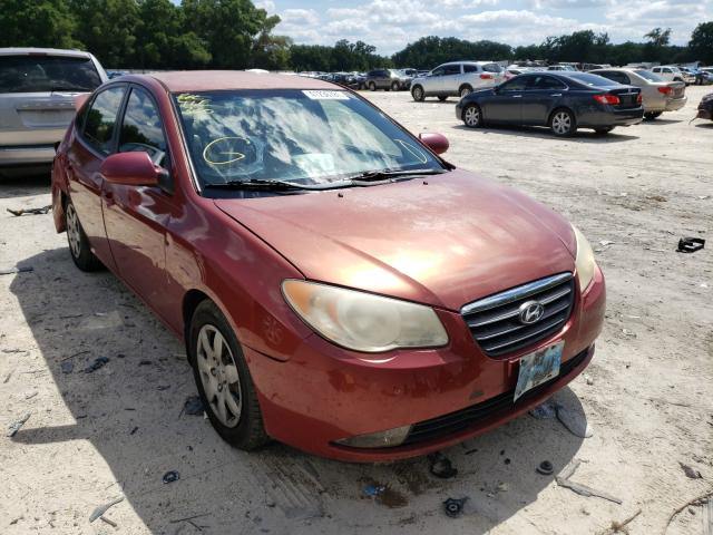 Salvage cars for sale from Copart Ocala, FL: 2009 Hyundai Elantra GL