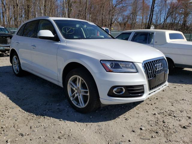 Salvage cars for sale from Copart Candia, NH: 2016 Audi Q5 Premium