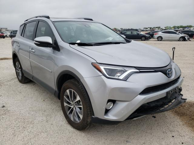 Salvage cars for sale from Copart San Antonio, TX: 2017 Toyota Rav4 HV LE