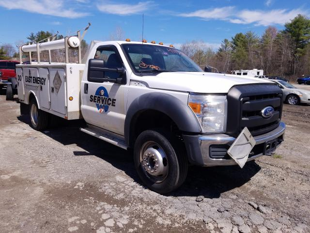 Salvage cars for sale from Copart Lyman, ME: 2011 Ford F450 Super