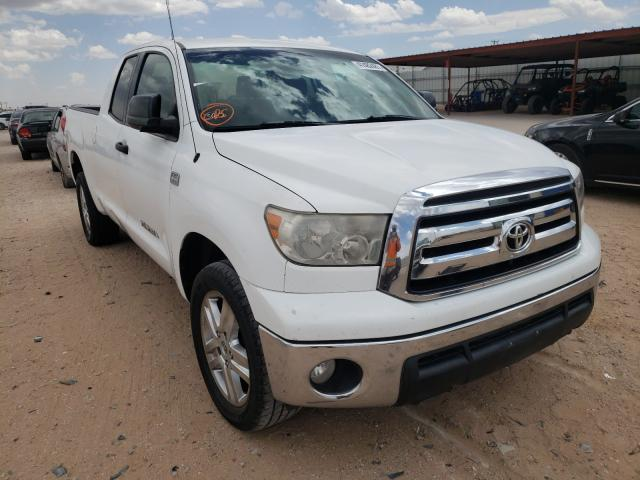 Salvage cars for sale from Copart Andrews, TX: 2010 Toyota Tundra DOU
