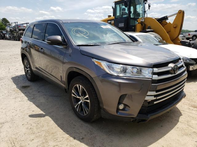 Salvage cars for sale from Copart Gainesville, GA: 2019 Toyota Highlander