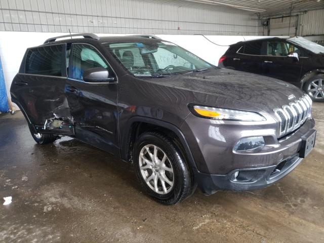 Salvage cars for sale from Copart Candia, NH: 2016 Jeep Cherokee L