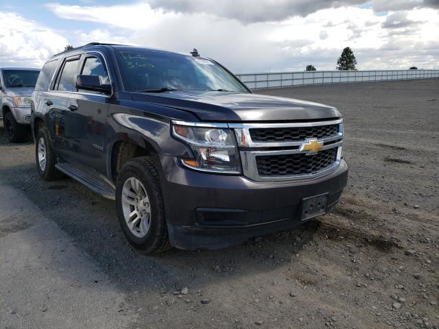 Salvage cars for sale from Copart Airway Heights, WA: 2016 Chevrolet Tahoe K150