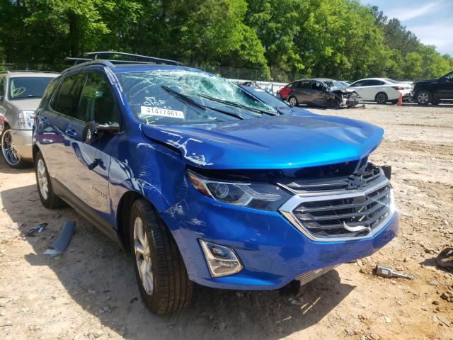Salvage cars for sale from Copart Austell, GA: 2019 Chevrolet Equinox LT