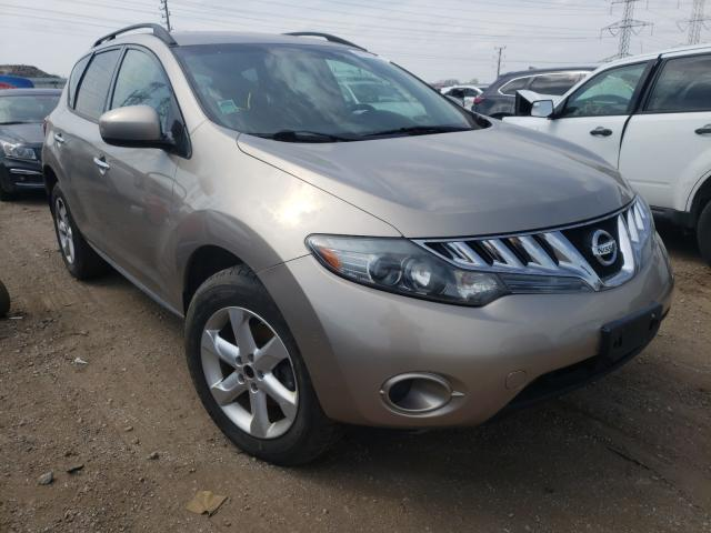 Salvage cars for sale from Copart Elgin, IL: 2009 Nissan Murano S