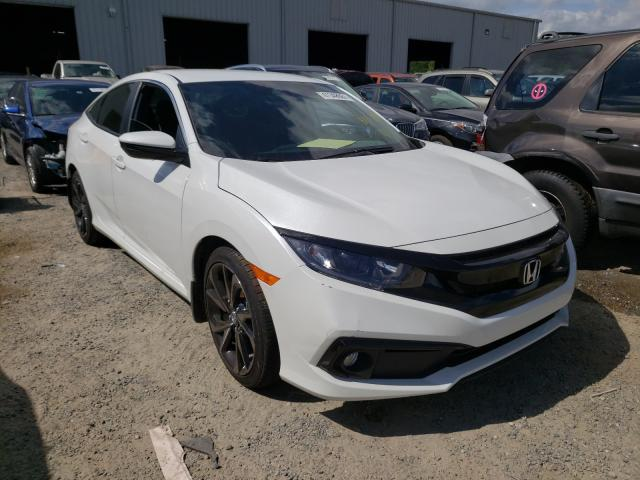 Salvage cars for sale from Copart Jacksonville, FL: 2020 Honda Civic Sport