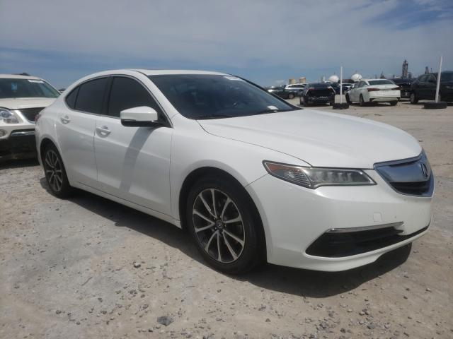 Acura TLX salvage cars for sale: 2016 Acura TLX
