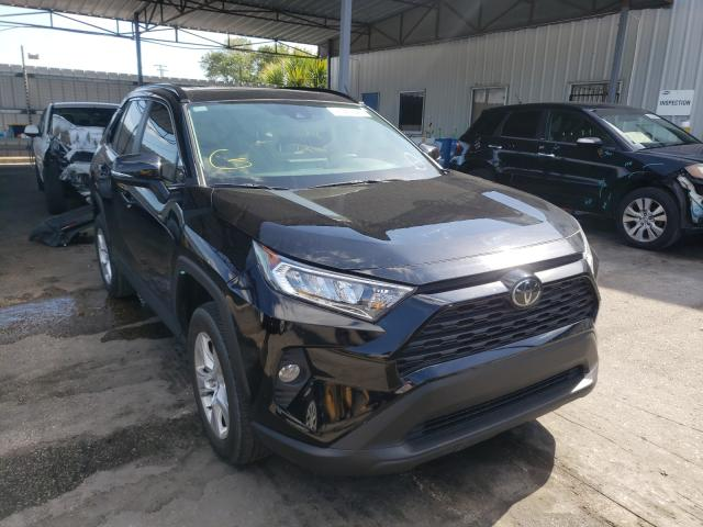 Salvage cars for sale from Copart Orlando, FL: 2020 Toyota Rav4 XLE