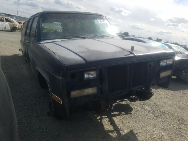 Salvage cars for sale from Copart Antelope, CA: 1991 GMC Suburban V