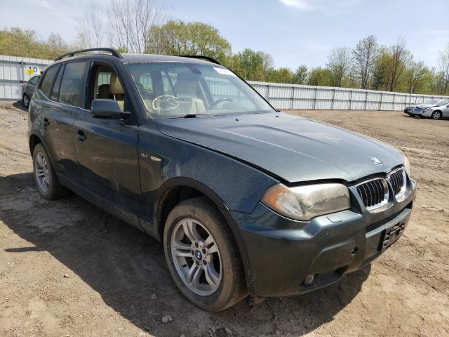 Salvage cars for sale from Copart Columbia Station, OH: 2006 BMW X3 3.0I