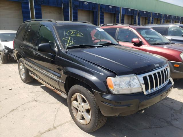 Salvage cars for sale from Copart Columbus, OH: 2004 Jeep Grand Cherokee