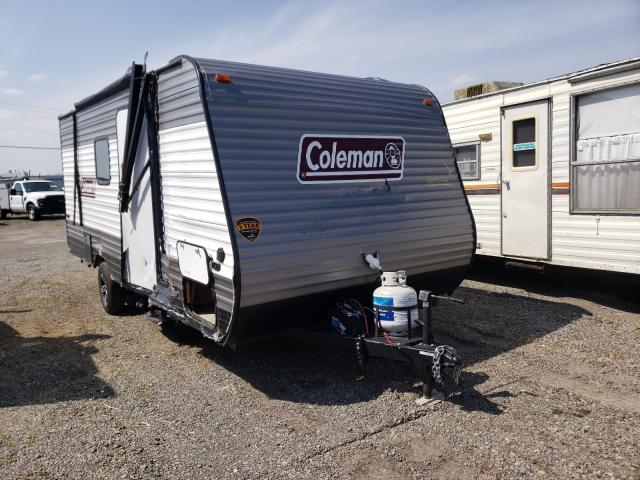 Salvage cars for sale from Copart Dyer, IN: 2020 Coleman Camper