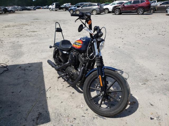 Salvage motorcycles for sale at Savannah, GA auction: 2020 Harley-Davidson XL1200 NS