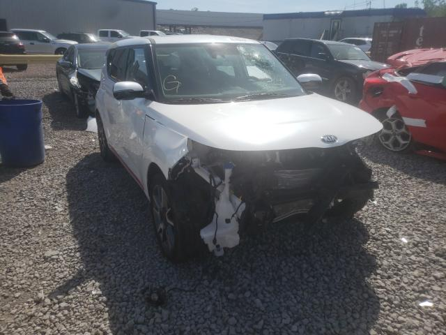 Salvage cars for sale from Copart Hueytown, AL: 2021 KIA Soul GT LI