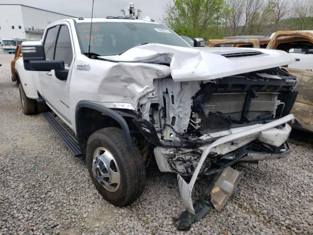 Salvage cars for sale from Copart Tulsa, OK: 2021 Chevrolet Silverado