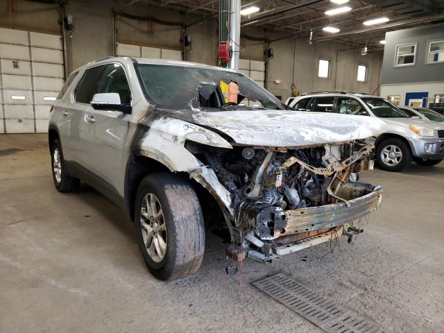 Salvage cars for sale from Copart Blaine, MN: 2018 Chevrolet Traverse L