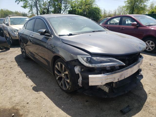 Chrysler salvage cars for sale: 2015 Chrysler 200 C