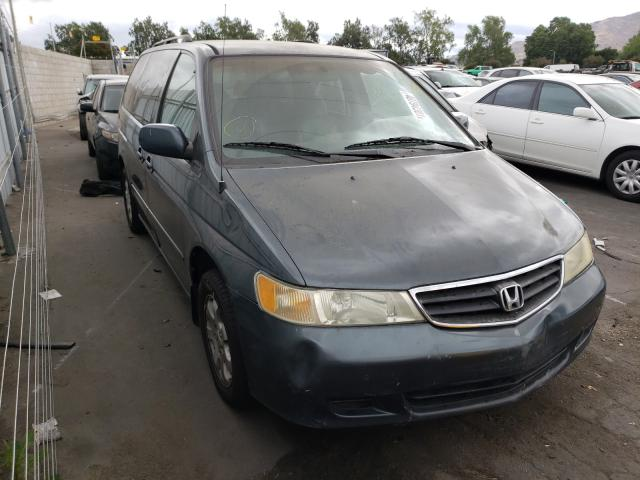 Salvage cars for sale from Copart Colton, CA: 2003 Honda Odyssey EX