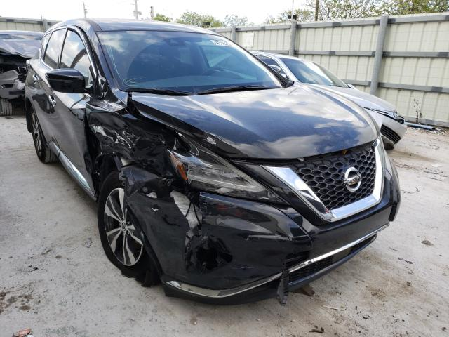 Salvage cars for sale from Copart Homestead, FL: 2020 Nissan Murano S