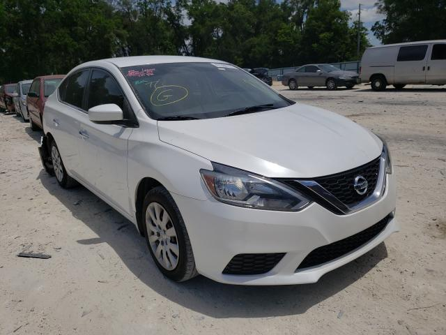 Salvage cars for sale from Copart Ocala, FL: 2017 Nissan Sentra S