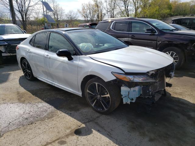 Salvage cars for sale from Copart Marlboro, NY: 2019 Toyota Camry XSE