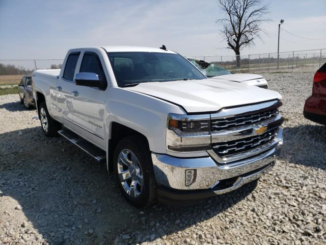 Salvage trucks for sale at Cicero, IN auction: 2016 Chevrolet Silverado