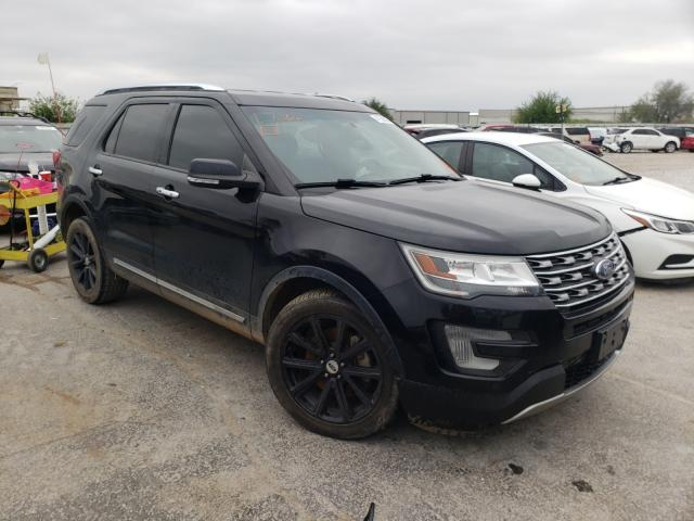 Salvage cars for sale from Copart Tulsa, OK: 2017 Ford Explorer L