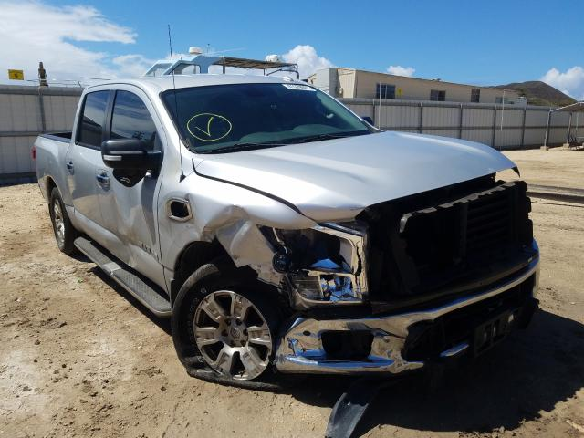 Salvage cars for sale from Copart Kapolei, HI: 2017 Nissan Titan SV