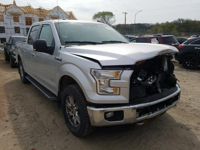 Salvage cars for sale from Copart Madison, WI: 2016 Ford F150 Super