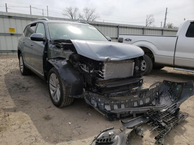 Salvage cars for sale from Copart Lansing, MI: 2021 Volkswagen Atlas SEL