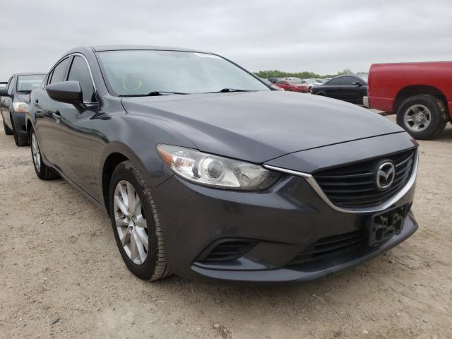 Mazda salvage cars for sale: 2015 Mazda 6 Sport