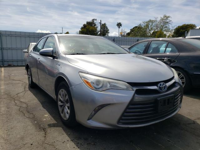Salvage cars for sale from Copart Vallejo, CA: 2015 Toyota Camry Hybrid