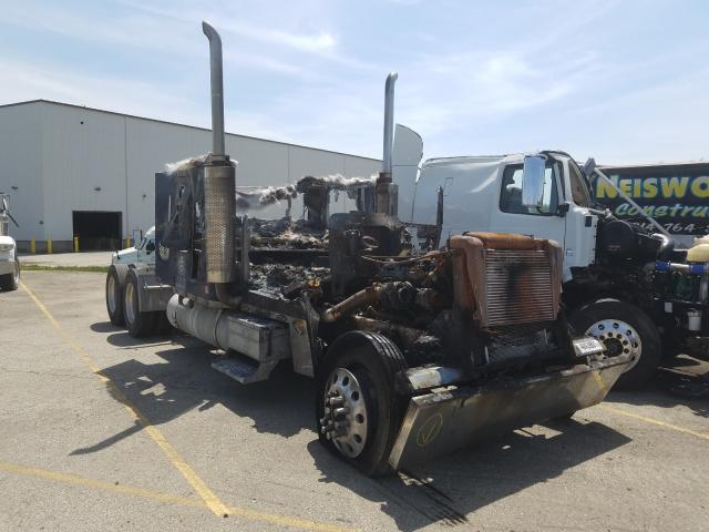 Salvage cars for sale from Copart West Mifflin, PA: 1998 Freightliner Convention