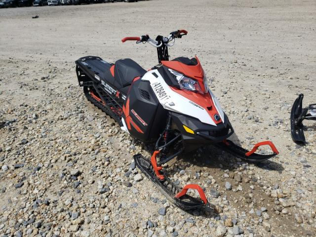 Salvage cars for sale from Copart Candia, NH: 2014 Skidoo Summit 800