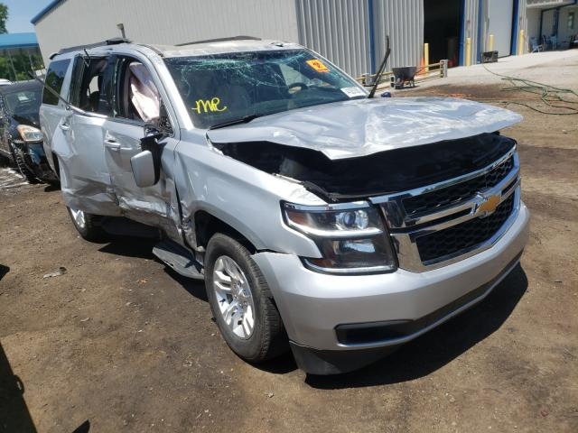 Salvage cars for sale at Harleyville, SC auction: 2017 Chevrolet Tahoe K150