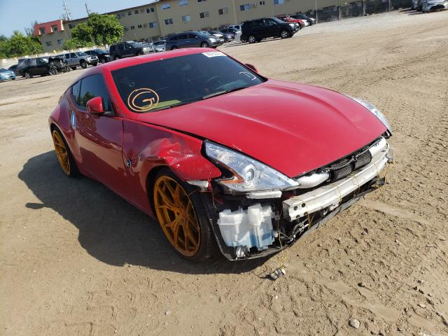 Salvage cars for sale from Copart Opa Locka, FL: 2015 Nissan 370Z Base