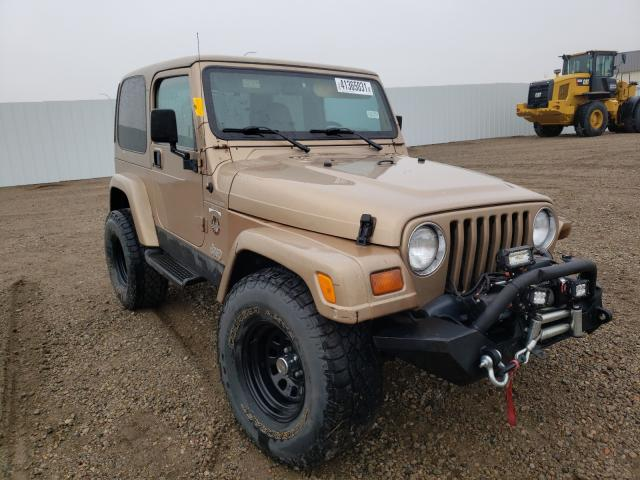 Salvage cars for sale from Copart Bismarck, ND: 1999 Jeep Wrangler