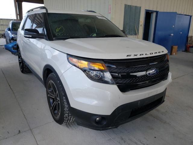Salvage cars for sale from Copart Homestead, FL: 2015 Ford Explorer S