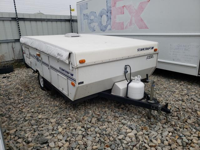 Salvage cars for sale from Copart Appleton, WI: 2000 Starcraft Travel Trailer