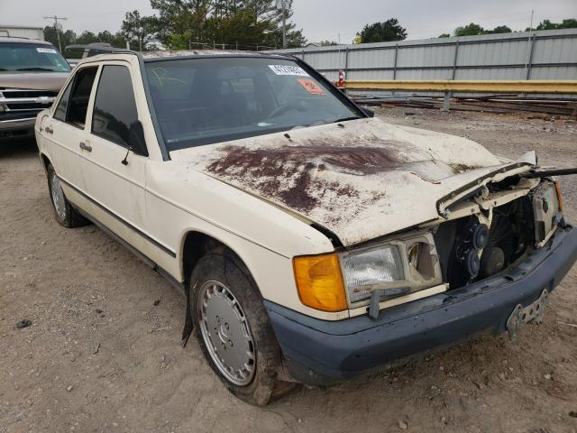 Mercedes-Benz 190 E 2.3 salvage cars for sale: 1988 Mercedes-Benz 190 E 2.3