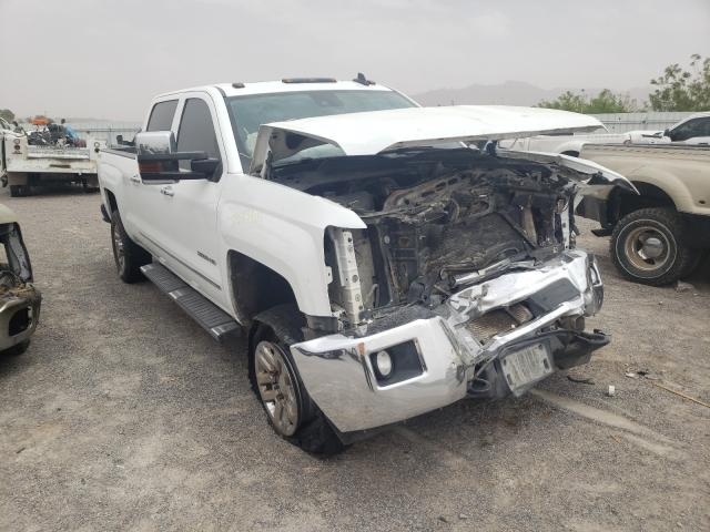 Salvage cars for sale from Copart Anthony, TX: 2015 Chevrolet Silverado