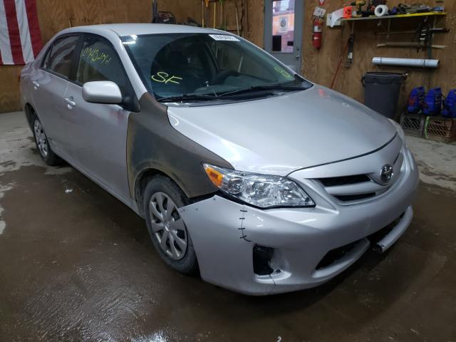 Salvage cars for sale from Copart Kincheloe, MI: 2011 Toyota Corolla BA