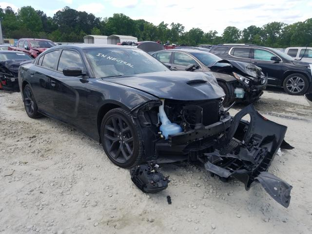 Salvage cars for sale from Copart Ellenwood, GA: 2020 Dodge Charger R