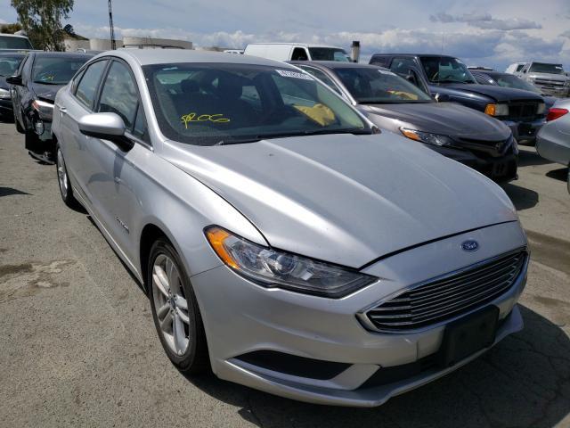 Carros híbridos a la venta en subasta: 2018 Ford Fusion SE