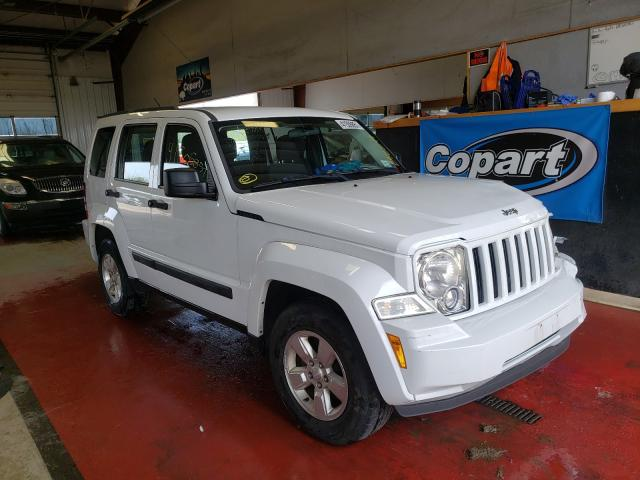 Salvage cars for sale from Copart Angola, NY: 2012 Jeep Liberty SP